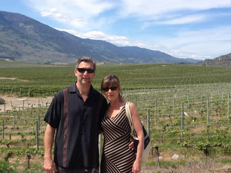 Carol & Jason from Kelowna, British Columbia, Canada