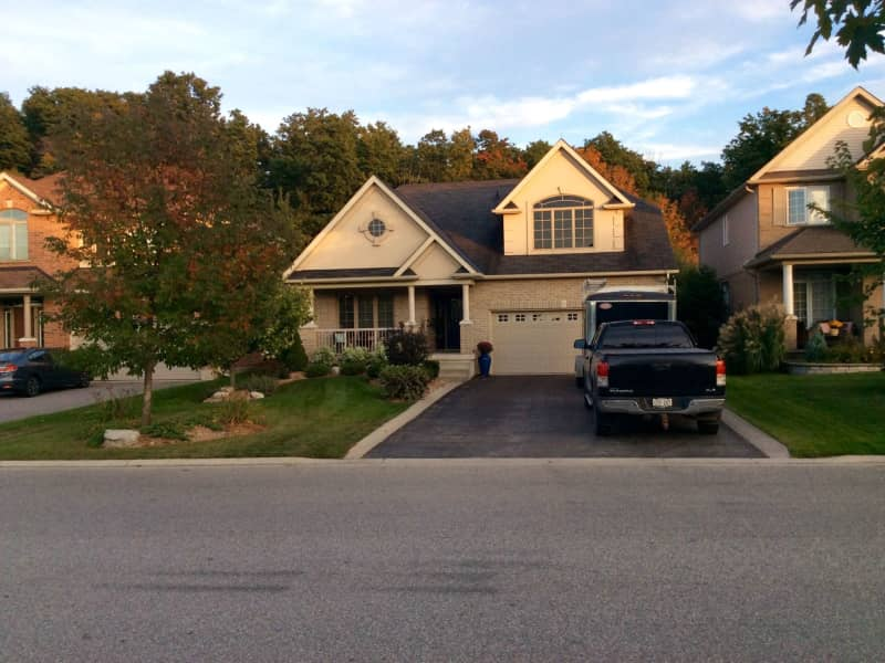Housesitting assignment in Rockwood, Ontario, Canada
