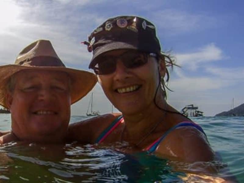 Ciska & Chris from Bocas del Toro, Panama