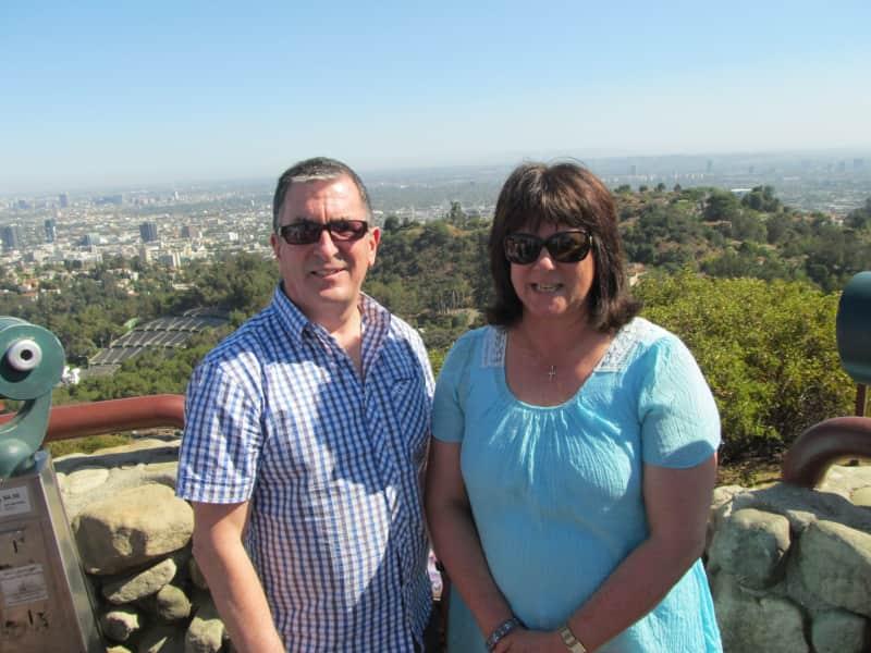 Sandra & Ian from Napier, New Zealand