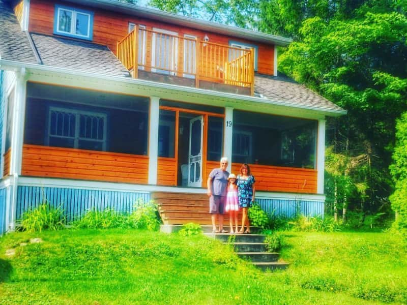 Housesitting assignment in Fossambault-sur-lac, Quebec, Canada