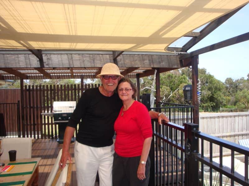 Margaret & Dieter from Torquay, Victoria, Australia