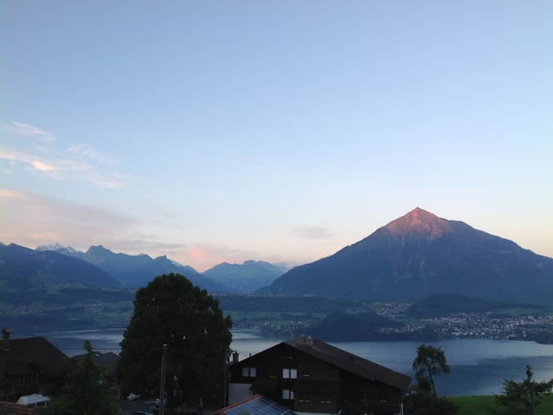 Housesitting assignment in Sigriswil, Switzerland