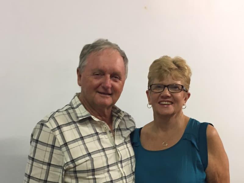 Julie & John from Tannum Sands, Queensland, Australia