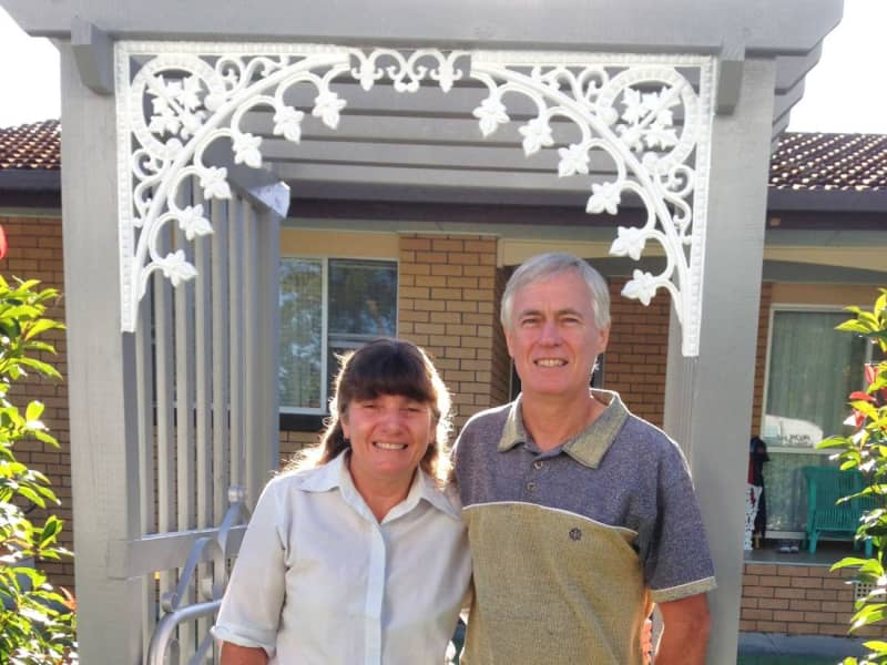 Graeme & Lynette from Newcastle, New South Wales, Australia