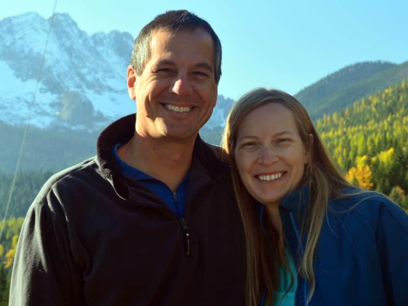 Vic & Heather from Fernie, British Columbia, Canada