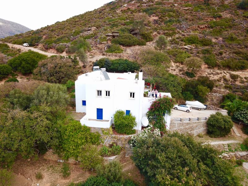 Housesitting assignment in Andros, Greece