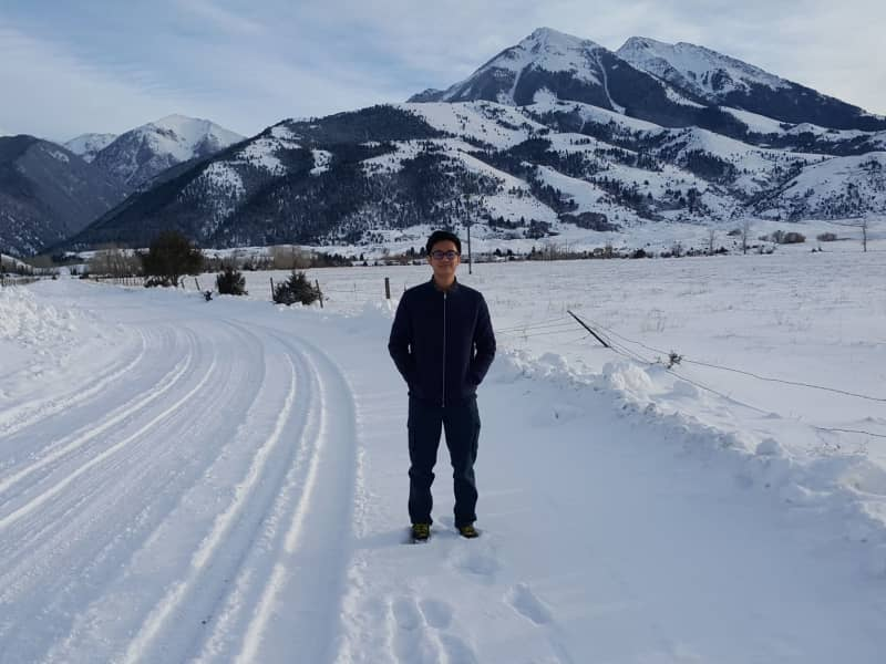 Chor yik from Chico Hot Springs, Montana, United States