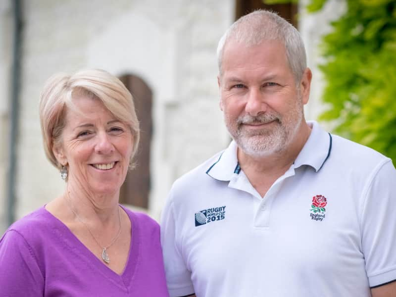 Philip & Glynis from Cognac, France