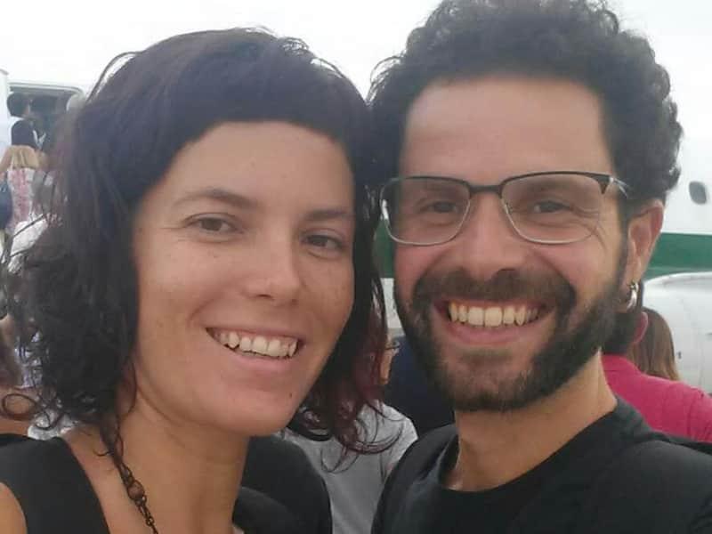 Helena & Alessio from Las Palmas de Gran Canaria, Spain