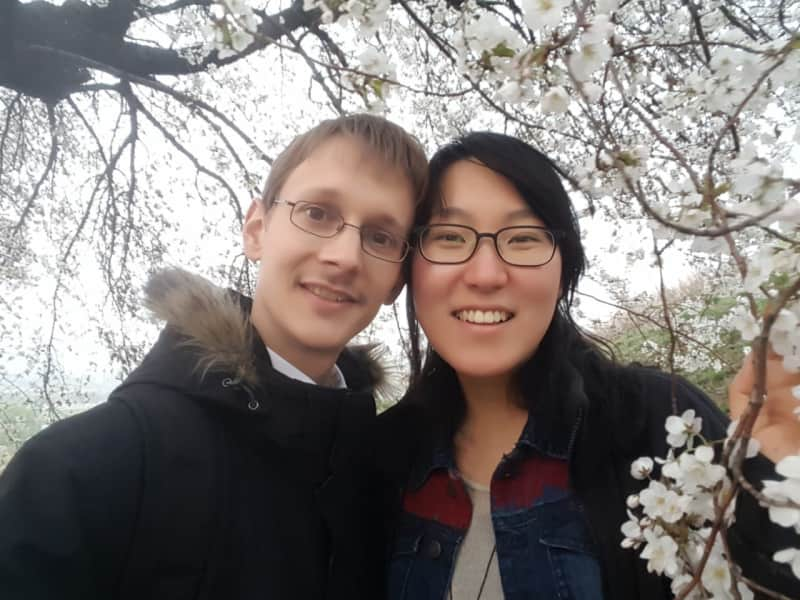 Friedemann & Sejeong from Seoul, South Korea