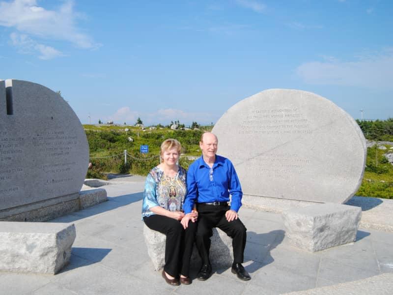 Barbara & Dwight from Gagetown, New Brunswick, Canada