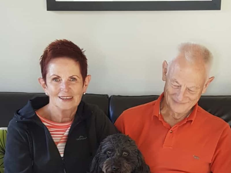 Theresa & Paul from Christchurch, New Zealand
