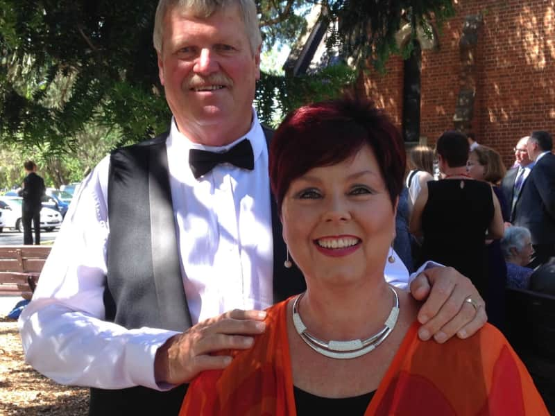 Catherine & Hugh from Orange, New South Wales, Australia