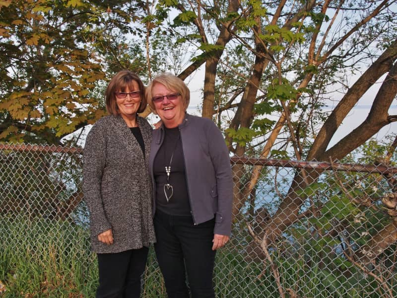 Carol & Cheryl from Barrie, Ontario, Canada