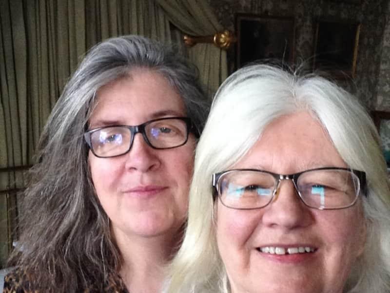 Moira & Carol from Dublin, Ireland