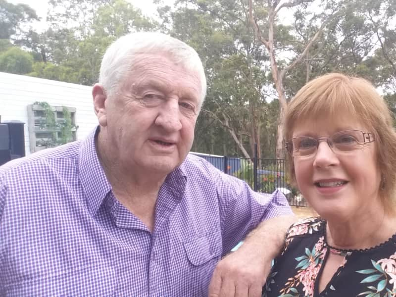 Liz & Myles from Warrnambool, Victoria, Australia