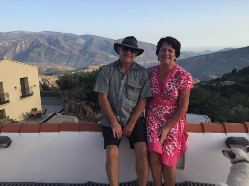 Sue & Pete from Lanjarón, Spain