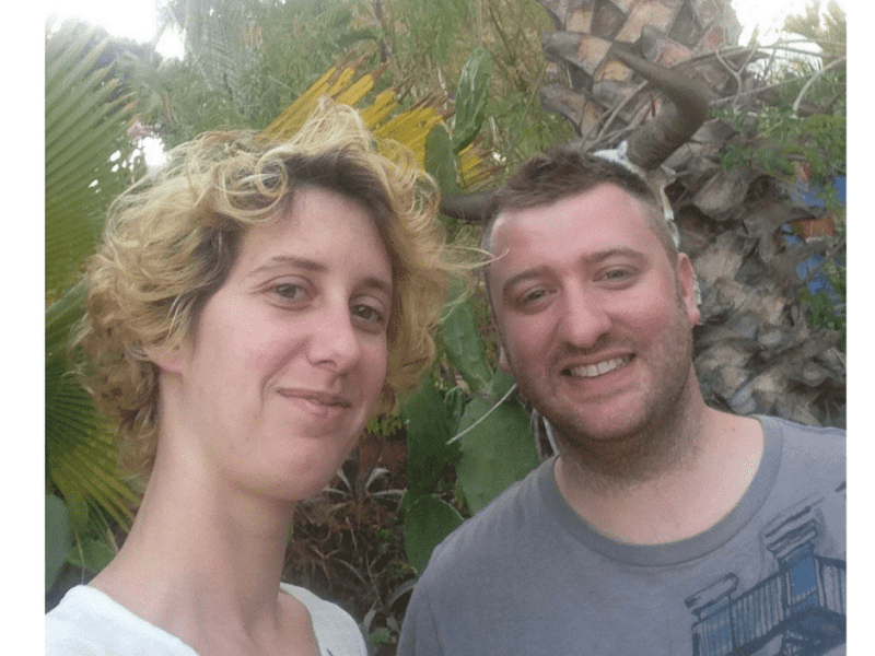 Barbara & Arnaud from Toulouse, France