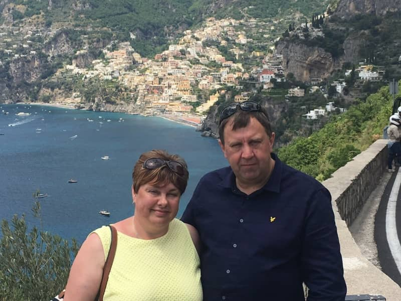Tim & Sue from Barlaston, United Kingdom