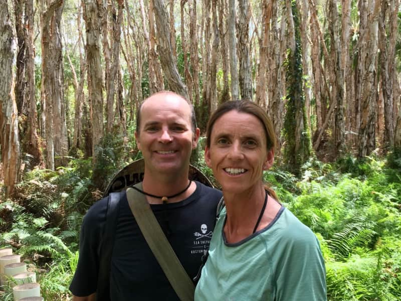 Debbie & Andrew from Cairns, Queensland, Australia