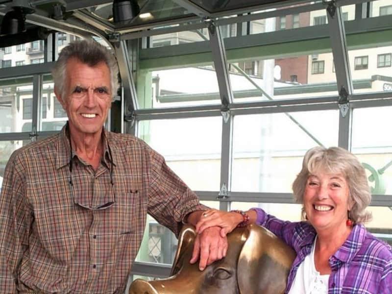 Patricia & Derek from Midland, Ontario, Canada