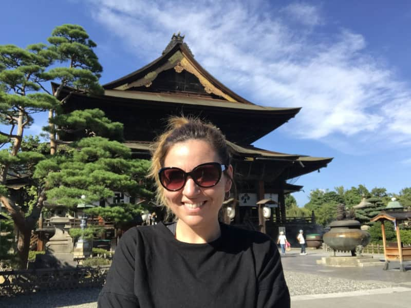 Carolina from Tokyo, Japan