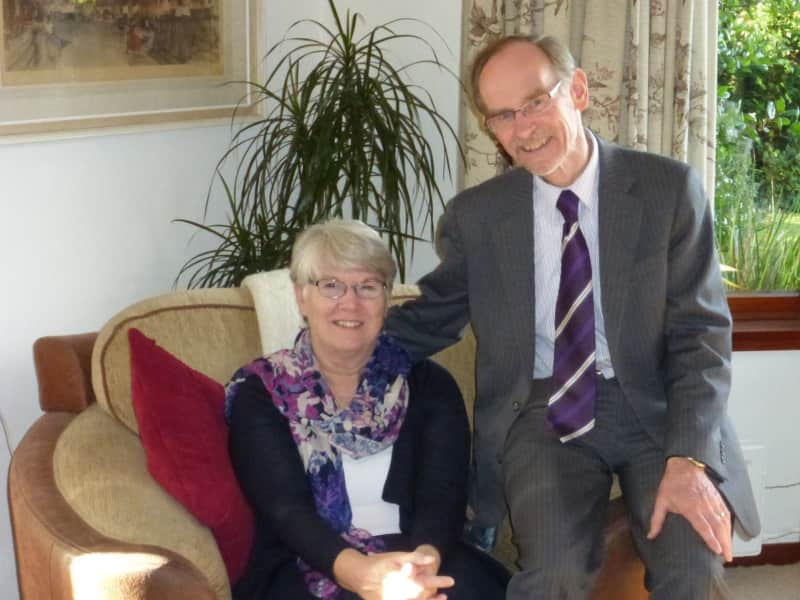 Norine & Bob from Bangor, United Kingdom