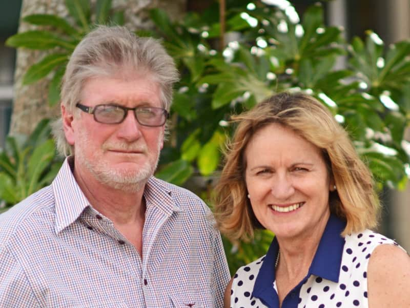 Sandy & Doug from Caloundra, Queensland, Australia