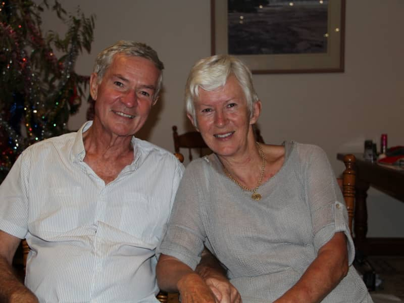 Joan & Gary from Port Macquarie, New South Wales, Australia