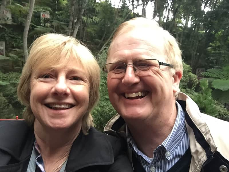 Janet & Tom from South Wimbledon, United Kingdom