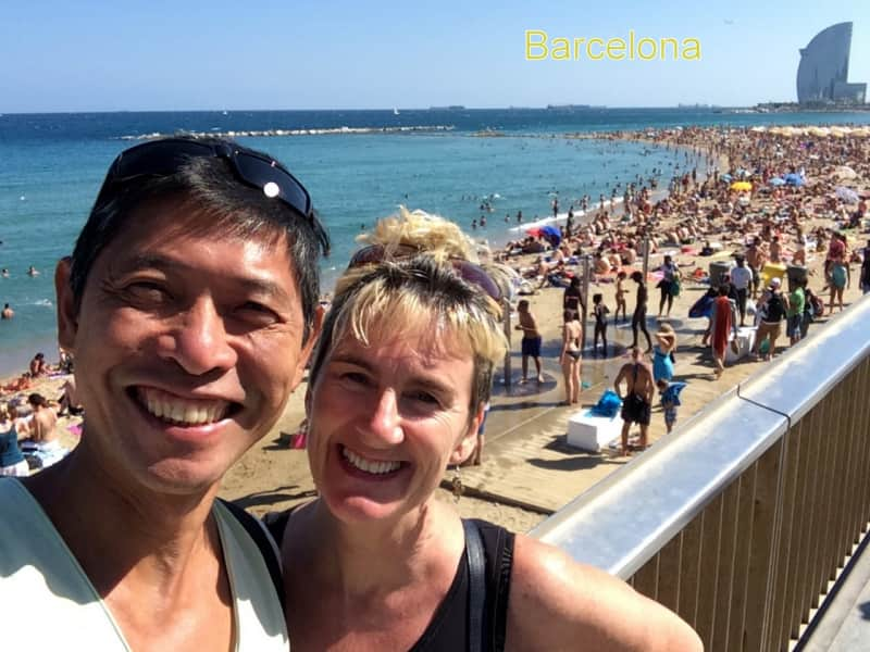 Deirdre & Raymond from United Kingdom