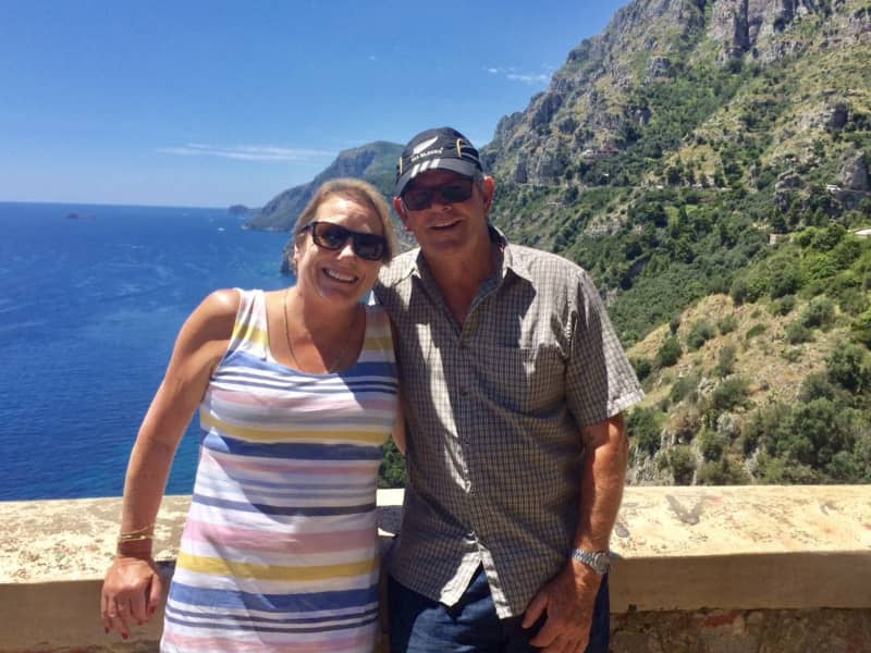Mike & Roz from Gisborne, New Zealand