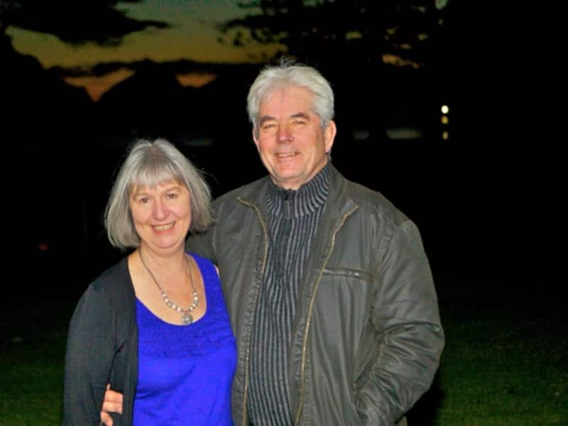 Lynne & Bob from Taupo, New Zealand
