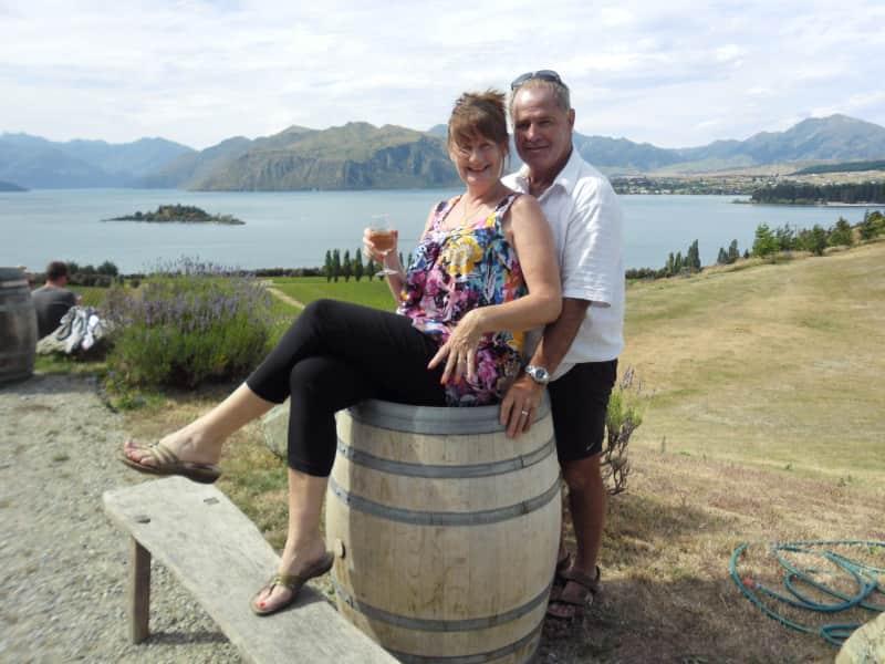 Vivienne & David from Christchurch, New Zealand