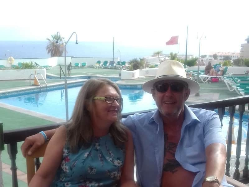Pamela & James from Leicester, United Kingdom