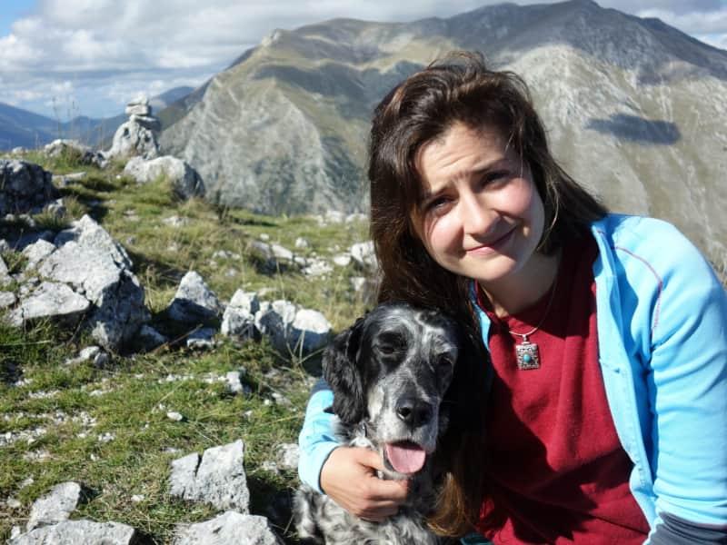 Anna from Pescosolido, Italy