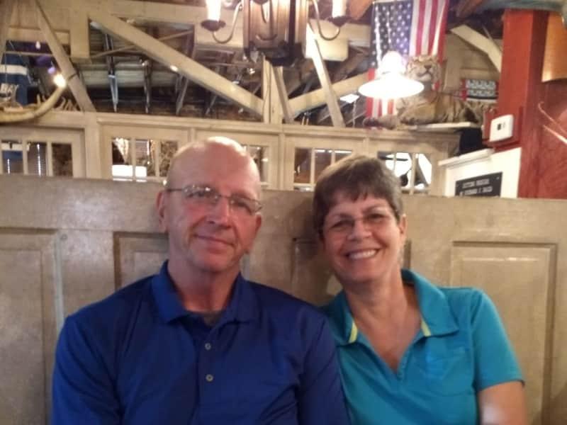 Carol & Guy from Homosassa, Florida, United States