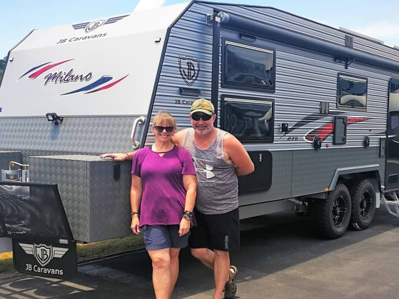 Linda & Scotty from Auckland, New Zealand