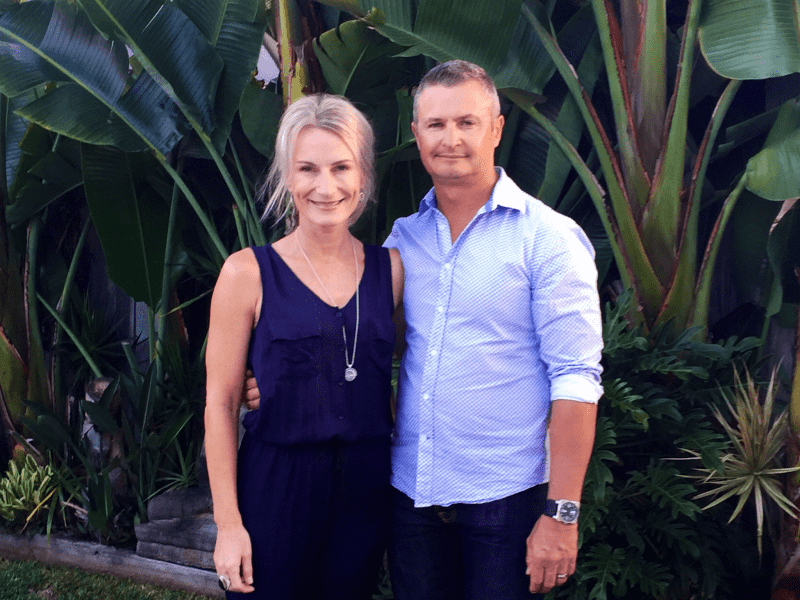 Rachel & Darren from Sunshine Coast, Queensland, Australia