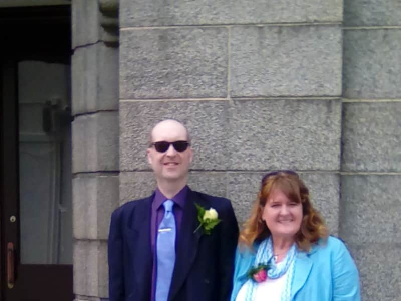 Rosalind & Martin from Guernsey
