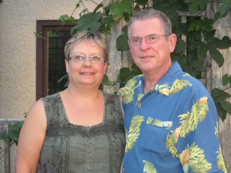 Donna & Rick from Winnipeg, Manitoba, Canada