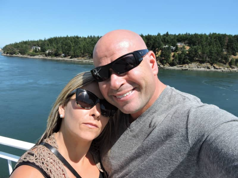 Anthony & Roxanne from White Rock, British Columbia, Canada