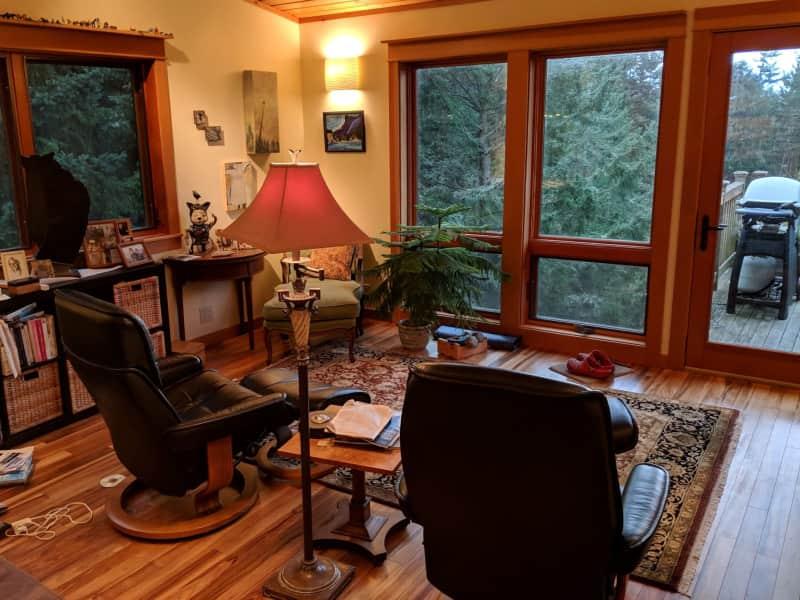 Housesitting assignment in Friday Harbor, Washington, United States