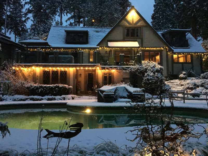 Housesitting assignment in West Vancouver, British Columbia, Canada