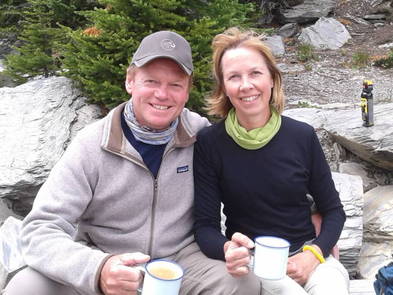 Julie & Mick from Vernon, British Columbia, Canada