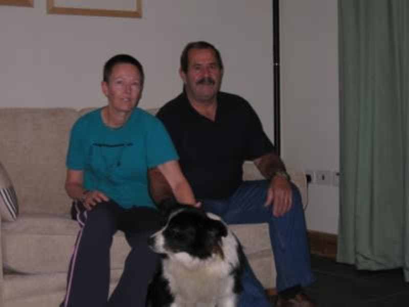Val & Roy from Stowmarket, United Kingdom