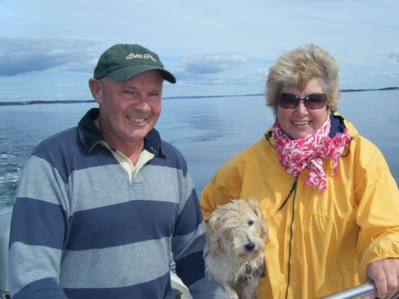 Jo & chris & Chris from Lunenburg, Nova Scotia, Canada