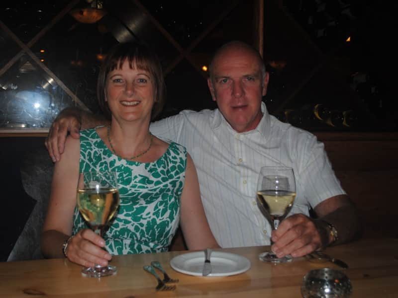 Peter & Liz from Manchester, United Kingdom