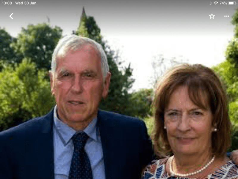 Barry & Mary from Melton Mowbray, United Kingdom